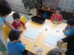 """Открита практика в първа група,,Мики Маус"""" тема:,, Геометрични фигури"""" - ДГ Слънце - Радомир"""
